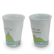"Copo Plastic Rio de Janeiro 240ml <span class=""ref"">G: 0807099G - 7894002290223</span>"