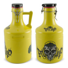 "GROWLER STEEL 2000ML AMARELO ""DRY HOP"" <span class=""ref"">G: 1662207G</span>"
