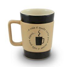 "CANECA COFFEE TO GO 300ML &#8211; VIDA CURTA <span class=""ref"">G: 053882G</span>"
