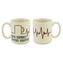 """CANECA COFFEE TIME 300ML – LIFE BEGINS <span class=""""ref"""">G: 05410G</span>"""