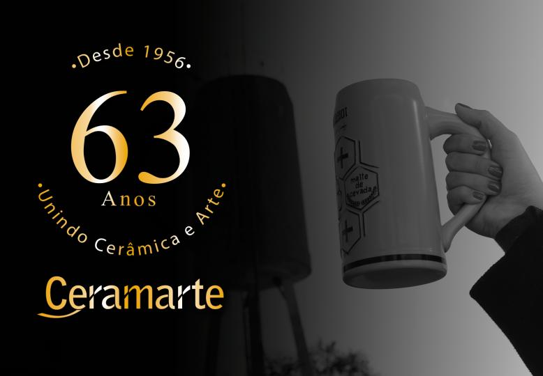 Ceramarte, 63 anos de história!